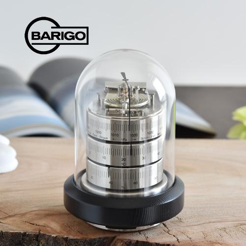 BARIGO バリゴ 温湿気圧計 ドーム型/シルバー 木製ベース BG30262_dp10