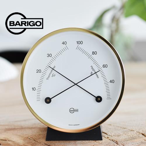 BARIGO バリゴ 温湿度計/ゴールド BG0916_dp10