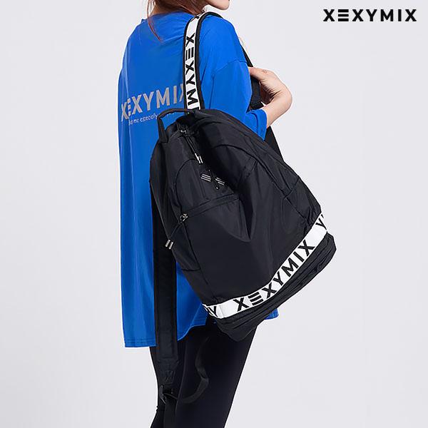 スポーツバッグ XEYXMIX CANVAS BACKPACK リュック バッグパック 大容量 収納スペース ゼクシィミックス