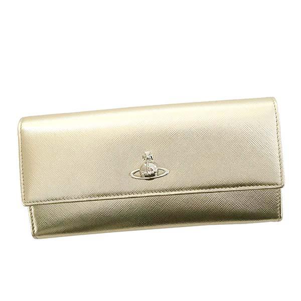 ヴィヴィアンウエストウッド Vivienne Westwood☆財布VWW 51060022 PIMLICO【gold 】【送料無料】※納期2~4日