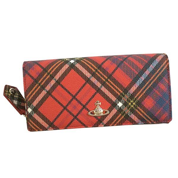ヴィヴィアンウエストウッド Vivienne Westwood☆財布VWW 51060025 DERBY【red 】【送料無料】※納期2~4日