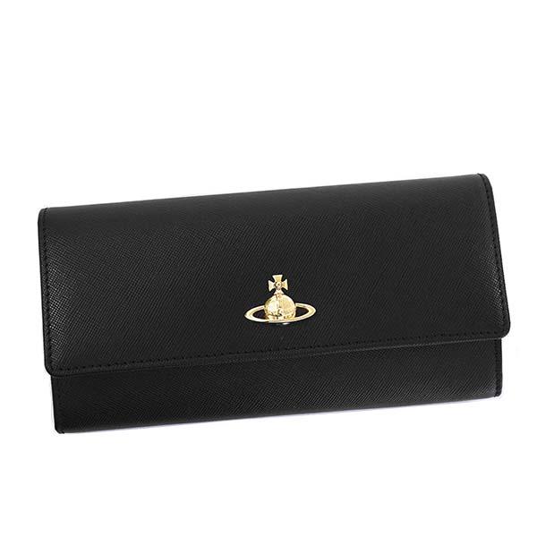 ヴィヴィアンウエストウッド Vivienne Westwood☆財布VWW 51060022 PIMLICO【black 】【送料無料】※納期2~4日