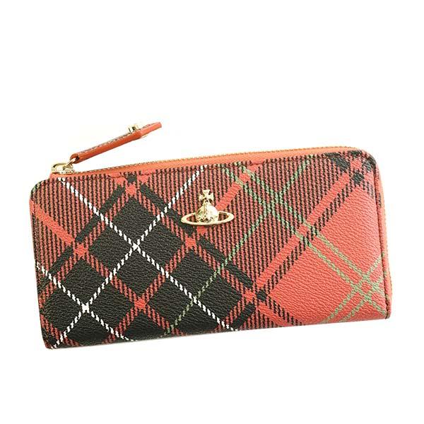 ヴィヴィアンウエストウッド Vivienne Westwood☆財布VWW 51050010 DERBY【red 】【送料無料】※納期2~4日