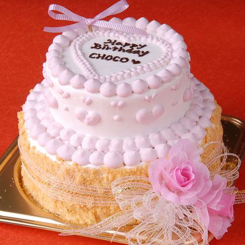 25%OFF 2段の豪華カワイイケーキ Prima 数量は多 donna 犬用ケーキ わんこケーキ ドッグケーキ 犬用お誕生日ケーキ