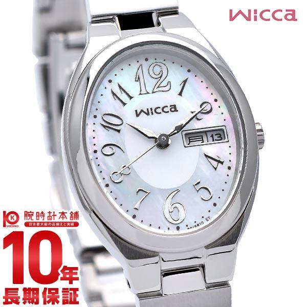 【先着限定最大3000円OFFクーポン!6日9:59まで】 シチズン ウィッカ wicca ソーラー KH3-118-91 [正規品] レディース 腕時計 時計