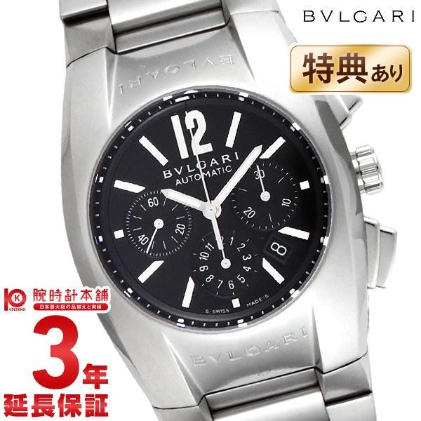 BVLGARI [海外輸入品] ブルガリ エルゴン クロノグラフ オートマチック ブラック EG35BSSDCH メンズ 腕時計 時計