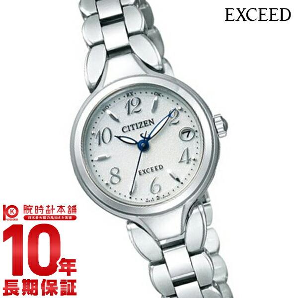 【エントリー&買い周りでさらに10倍!21日20時~】 シチズン エクシード EXCEED ソーラー電波 ES8040-54A [正規品] レディース 腕時計 時計【36回金利0%】【あす楽】