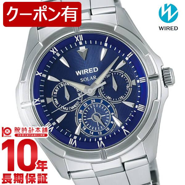 セイコー ワイアード WIRED ソーラー ニュースタンダード 100m防水 AGAD033 [正規品] メンズ 腕時計 時計