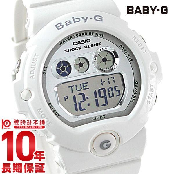 【先着限定最大3000円OFFクーポン!6日9:59まで】 カシオ ベビーG BABY-G シルバー×ホワイト BG-6900-7JF [正規品] レディース 腕時計 時計(予約受付中)
