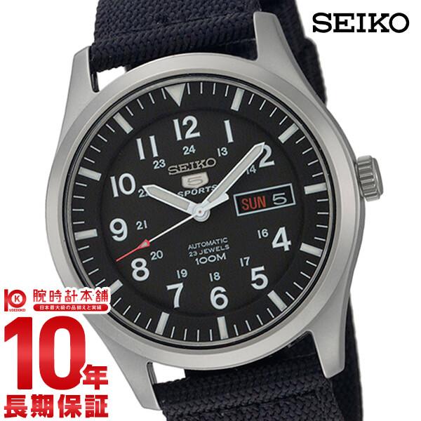 【ポイント最大33倍!9日20時より】セイコー SEIKO セイコー5スポーツ 100m防水 機械式(自動巻き) SNZG15J1 [正規品] メンズ 腕時計 時計【あす楽】