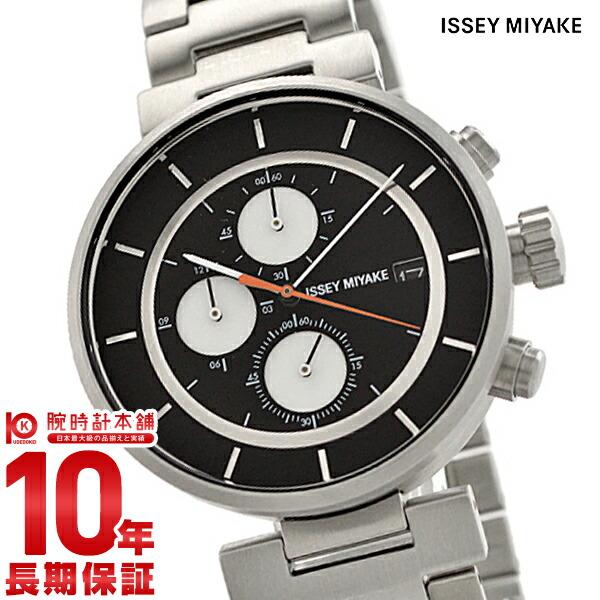 イッセイミヤケ ISSEYMIYAKE W ダブリュ クロノグラフ 和田智デザイン SILAY001 [正規品] メンズ 腕時計 時計【24回金利0%】