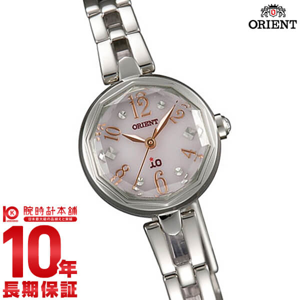 【先着限定最大3000円OFFクーポン!6日9:59まで】 オリエント ORIENT イオ スイートジュエリー2 ソーラー WI0171WD [正規品] レディース 腕時計 時計