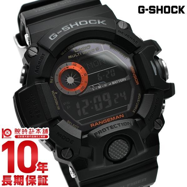 カシオ Gショック G-SHOCK レンジマン 世界6局ソーラー電波 GW-9400BJ-1JF [正規品] メンズ 腕時計 時計【24回金利0%】【あす楽】