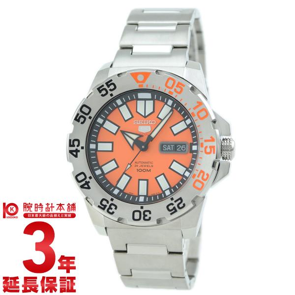 SEIKO5 [海外輸入品] セイコー5 逆輸入モデル 100m防水 機械式(自動巻き) SRP483K1 メンズ 腕時計 時計