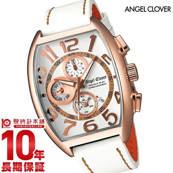 エンジェルクローバー AngelClover ダブルプレイ DP38PWH-WH   [正規品] メンズ 腕時計 時計 - xnknguyenduc.com