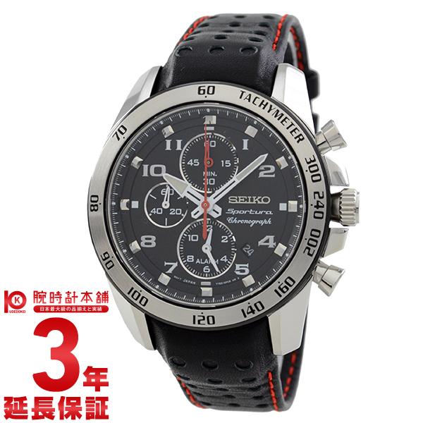 【エントリーでポイントアップ!11日1:59まで!】 SEIKO [海外輸入品] セイコー 逆輸入モデル スポーチュラ アラーム クロノグラフ 100m防水 SNAE65 メンズ 腕時計 時計