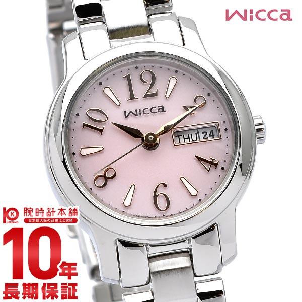 【先着限定最大3000円OFFクーポン!6日9:59まで】 wicca シチズン ウィッカ ソーラーテック KH3-410-91 [正規品] レディース 腕時計 時計