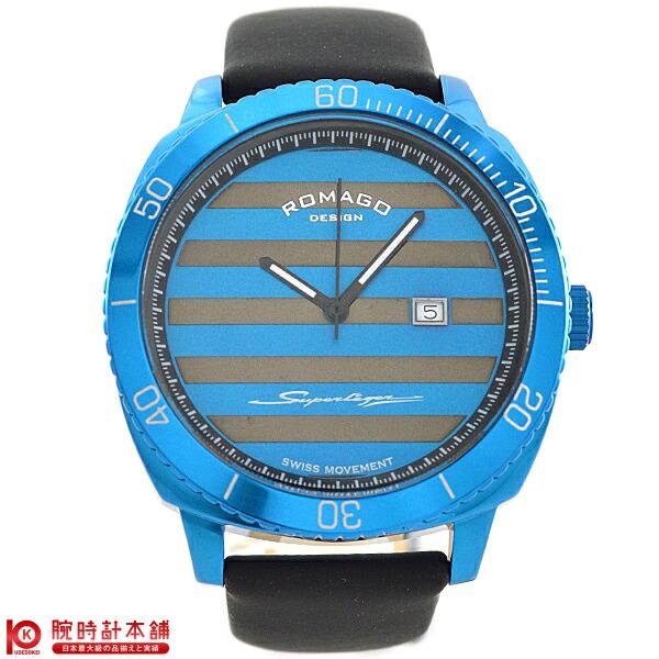 ロマゴデザイン ROMAGODESIGN SUPERLEGER スーパーレジャー RM049-0371ST-BU [正規品] メンズ&レディース 腕時計 時計【あす楽】
