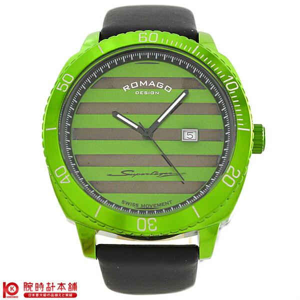ロマゴデザイン ROMAGODESIGN SUPERLEGER スーパーレジャー RM049-0371ST-GR [正規品] メンズ&レディース 腕時計 時計【あす楽】
