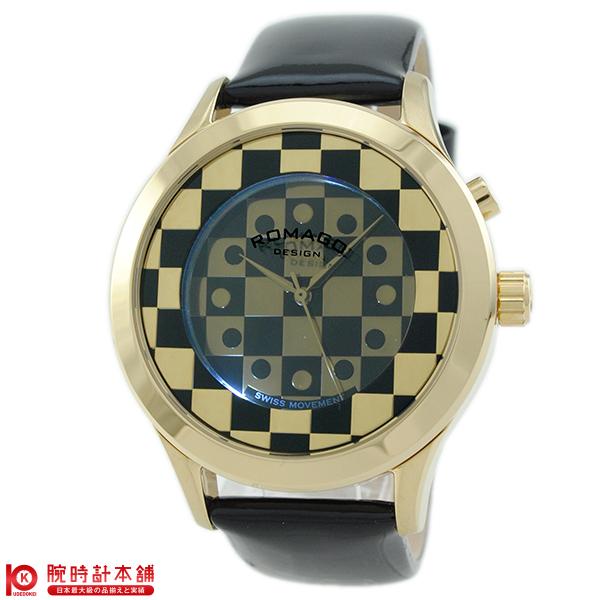 【3000円割引クーポン】ロマゴデザイン ROMAGODESIGN FASHIONCODE ファッションコード RM052-0314ST-GDBK [正規品] メンズ&レディース 腕時計 時計