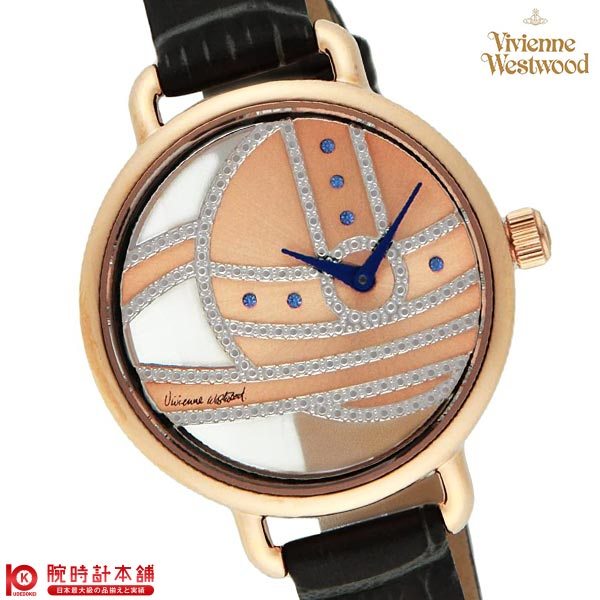 【先着限定最大3000円OFFクーポン!6日9:59まで】 [海外輸入品] ヴィヴィアン 時計 ヴィヴィアンウエストウッド Ladbroke VV076RSGY レディース 腕時計