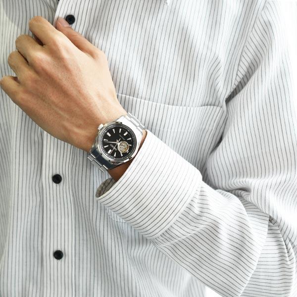 PRESAGE [국내 정규품]세이코프레자쥬 100 m방수 기계식(자동감김) SARY053 맨즈 손목시계 시계