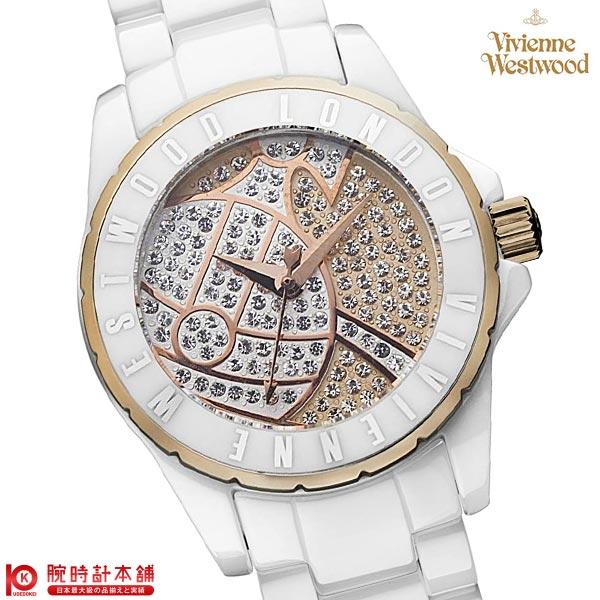 【先着限定最大3000円OFFクーポン!6日9:59まで】 [海外輸入品] ヴィヴィアン 時計 ヴィヴィアンウエストウッド VV088SRSWH レディース 腕時計