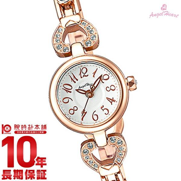 【先着限定最大3000円OFFクーポン!6日9:59まで】 エンジェルハート AngelHeart ピンキーハート シルバー スワロフスキー ステンレスベルト PH19SWPG [正規品] レディース 腕時計 時計