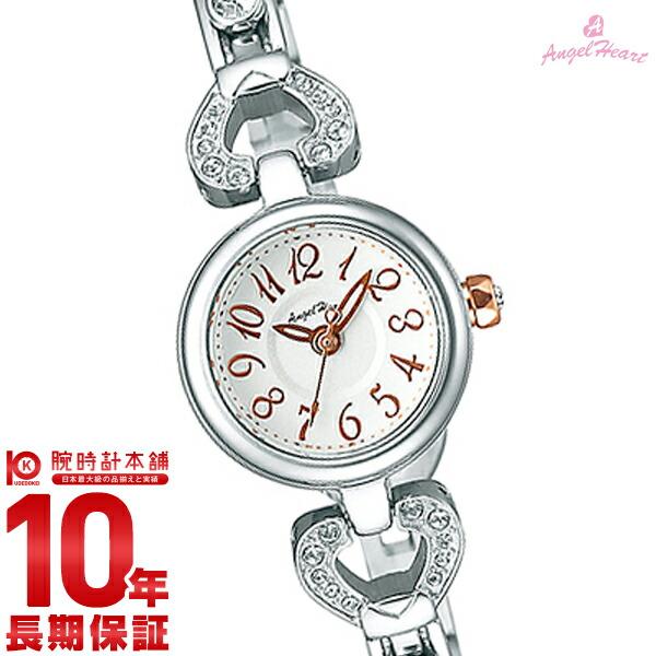 【先着限定最大3000円OFFクーポン!6日9:59まで】 エンジェルハート AngelHeart ピンキーハート シルバー スワロフスキー PH19SWSV [正規品] レディース 腕時計 時計