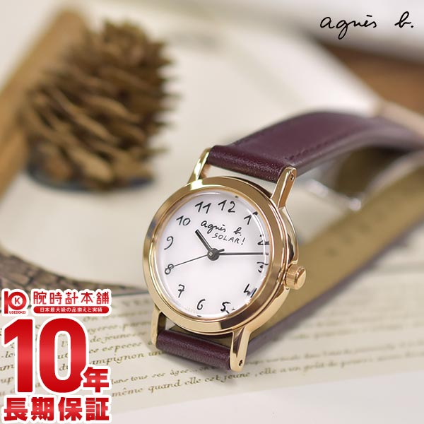 【先着限定最大3000円OFFクーポン!6日9:59まで】 アニエスベー agnes b. マルチェロ ソーラー FBSD962 [正規品] レディース 腕時計 時計