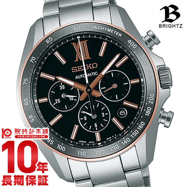 BRIGHTZ [국내 정규품]세이코브라이트크로노그라후 100 m방수 기계식(자동감김/손으로 말기) SDGZ012 맨즈 손목시계 시계