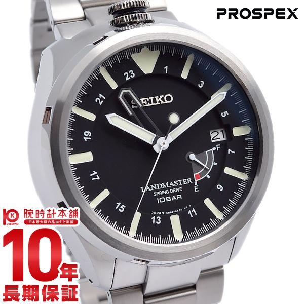 セイコー プロスペックス PROSPEX ランドマスター 100m防水 スプリングドライブ SBDB015 [正規品] メンズ 腕時計 時計【36回金利0%】