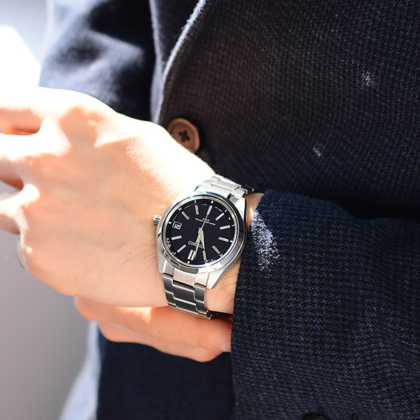 BRIGHTZ [국내 정규품]세이코브라이트소라 전파 100 m방수 블랙×실버 SAGZ083 맨즈 손목시계 시계