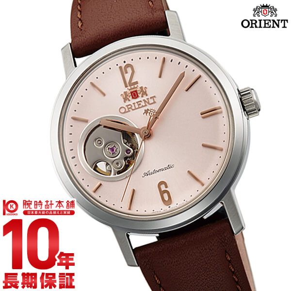 オリエント ORIENT スタイリッシュ&スマート SEMI SKELETON-C 機械式 自動巻き ライトピンク WV0471DB [正規品] メンズ&レディース 腕時計 時計
