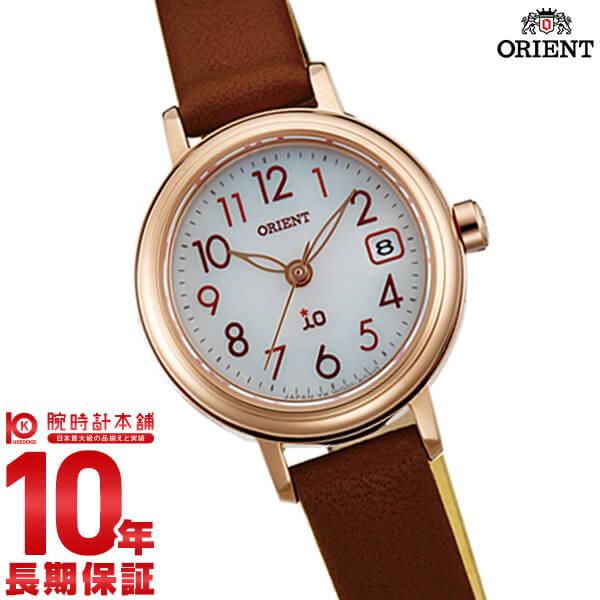 【先着限定最大3000円OFFクーポン!6日9:59まで】 オリエント ORIENT イオ NATURAL&PLAIN ソーラー ホワイト WI0041WG [正規品] レディース 腕時計 時計