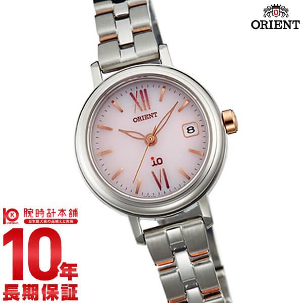【先着限定最大3000円OFFクーポン!6日9:59まで】 オリエント ORIENT イオ NATURAL&PLAIN ソーラー ピンク WI0061WG [正規品] レディース 腕時計 時計