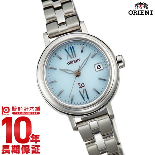 【先着限定最大3000円OFFクーポン!6日9:59まで】 オリエント ORIENT イオ NATURAL&PLAIN ソーラー ライトブルー WI0071WG [正規品] レディース 腕時計 時計