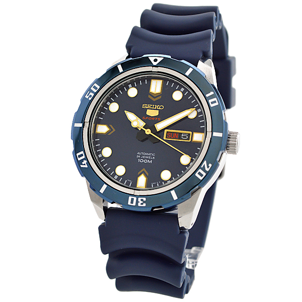 Watch shop luxe seiko5 overseas import goods seiko 5 reimportation model 100m waterproofing for Celebrity seiko watch