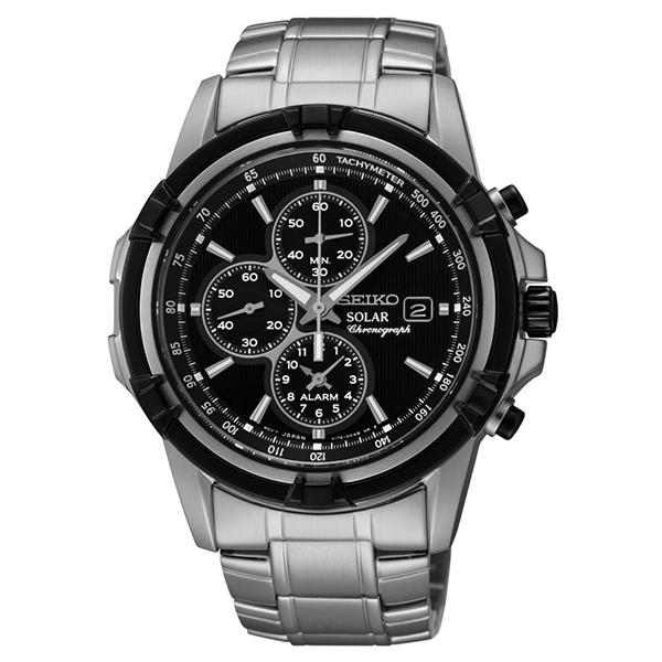 SEIKO [国内正規品] セイコー 逆輸入モデル ソーラー 100m防水 SSC147P1 メンズ 腕時計 時計