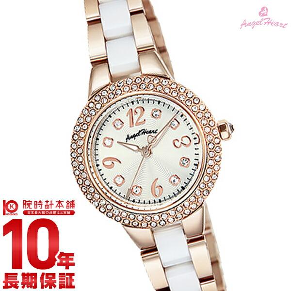 【先着限定最大3000円OFFクーポン!6日9:59まで】 エンジェルハート AngelHeart ラブスポーツ シルバー スワロフスキー WL27CPGZ [正規品] レディース 腕時計 時計