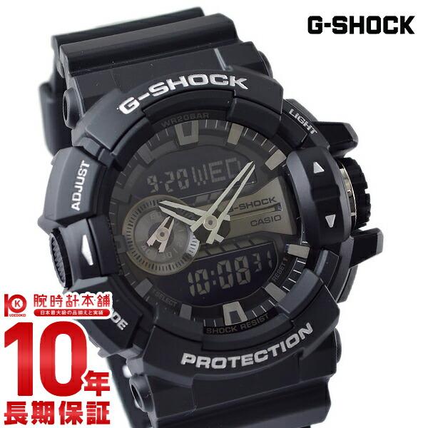 国内在庫 10年長期保証 ペア購入でBOX付き カシオ Gショック G-SHOCK 限定モデル GA400GB1AJF 腕時計 入荷後 春の新作 正規品 メンズ 3営業日以内に発送 時計