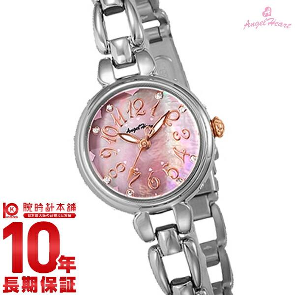 【先着限定最大3000円OFFクーポン!6日9:59まで】 エンジェルハート AngelHeart フラワリータイム ピンクパール スワロフスキー FT24SP [正規品] レディース 腕時計 時計