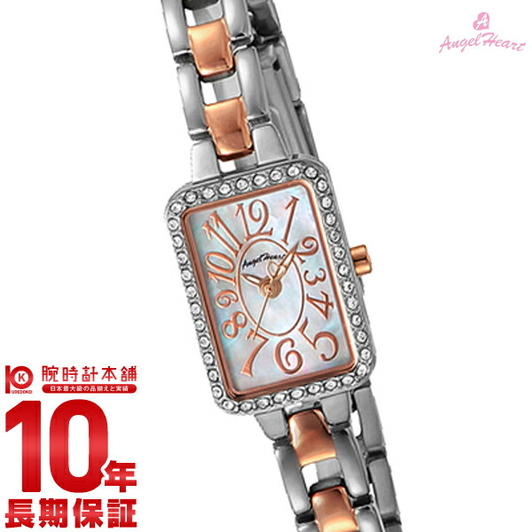 【先着限定最大3000円OFFクーポン!6日9:59まで】 エンジェルハート AngelHeart トゥインクルハート ホワイトパール スワロフスキー TH16RSW [正規品] レディース 腕時計 時計
