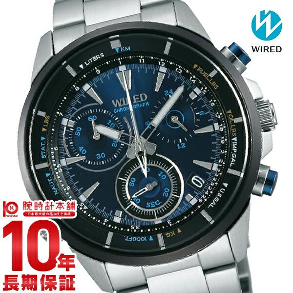 セイコー ワイアード WIRED クロノグラフ 100m防水 AGAW441 [正規品] メンズ 腕時計 時計