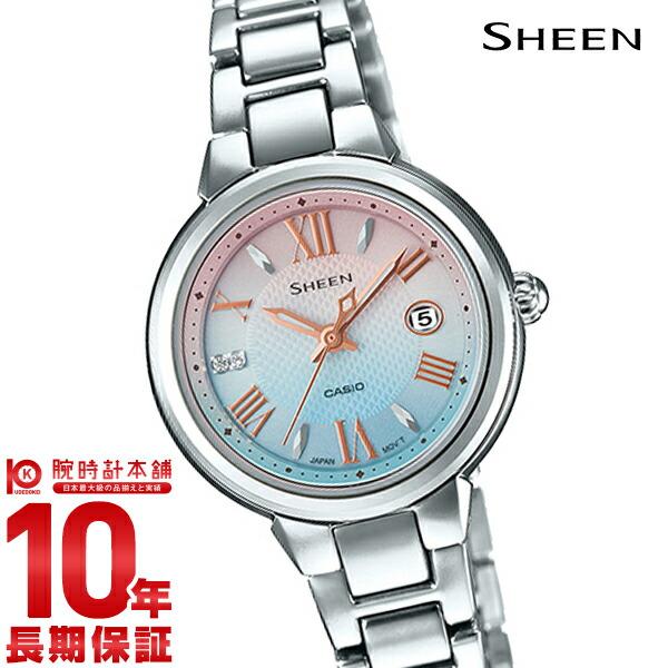 【最大2000円OFFクーポン&店内最大ポイント48倍!】 カシオ シーン SHEEN ソーラー SHE-4516SBJ-7CJF [正規品] レディース 腕時計 時計(予約受付中)