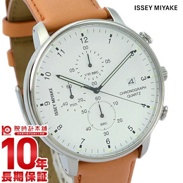 イッセイミヤケ ISSEYMIYAKE Cシー岩崎一郎デザインクロノグラフ NYAD004 [正規品] メンズ 腕時計 時計【24回金利0%】