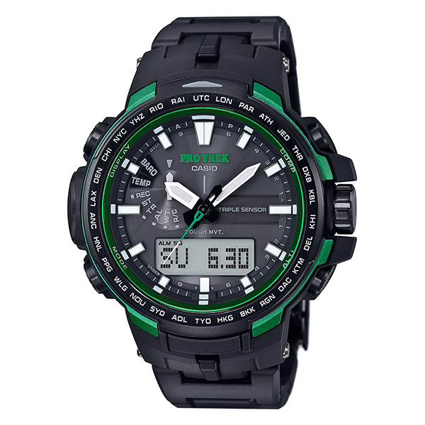 カシオ プロトレック PROTRECK ソーラー電波 PRW6100FC1JF [正規品] メンズ 腕時計 時計【24回金利0%】(予約受付中)