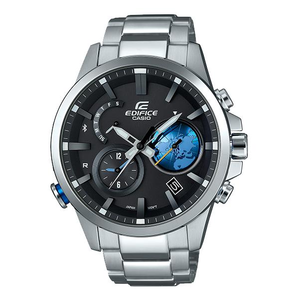 カシオ エディフィス EDIFICE ソーラー EQB-600D-1A2JF [正規品] メンズ 腕時計 時計【24回金利0%】(予約受付中)