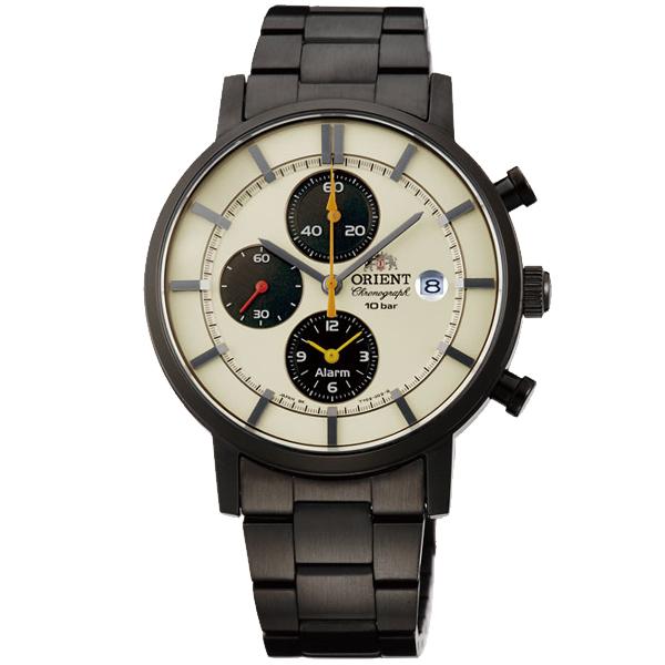 【最大2000円OFFクーポン!6日9:59まで】【5日は店内ポイント最大37倍!】オリエント ORIENT スタイリッシュ アンド スマート ソーラー アイボリー WV0051TY [正規品] メンズ 腕時計 時計