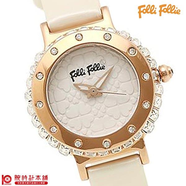 【先着限定最大3000円OFFクーポン!6日9:59まで】 FolliFollie [海外輸入品] フォリフォリ WF13B067SPW-WH レディース 腕時計 時計 【dl】brand deal15